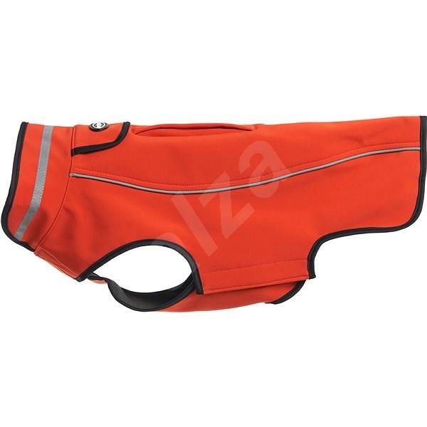 Obleček Softshell  Červená chili 32cm   S  KRUUSE - Obleček pro psy