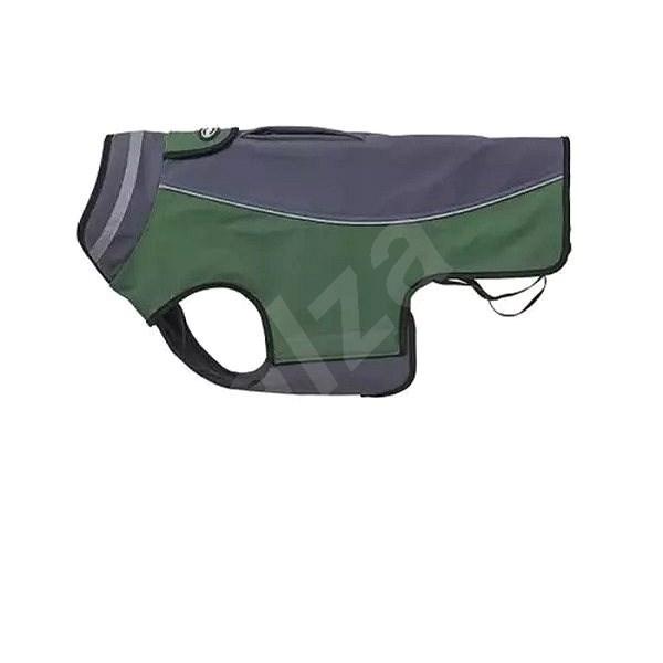 Obleček Softshell  Šedá/Zelená 20cm XXS KRUUSE - Obleček pro psy