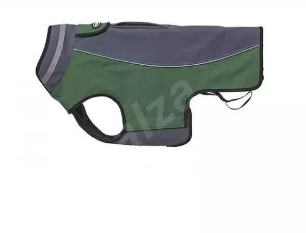 Obleček Softshell  Šedá/Zelená 32cm S KRUUSE - Obleček pro psy