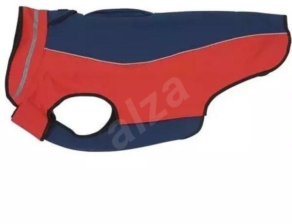 Obleček Softshell  Tm.modrá/Červená  25cm  XS  KRUUSE - Obleček pro psy