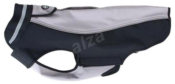 Obleček Softshell  Tm.pudrová/Černá  20cm  XXS  KRUUSE - Obleček pro psy