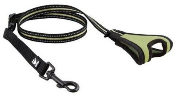 Vodítko Hurtta Jogging hráškové 60-90cm/20mm - Vodítko pro psa