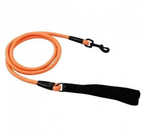 Vodítko Hurtta Dazzle 120cm/8mm oranžové reflexní - Vodítko pro psa