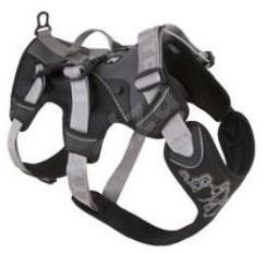 Postroj Hurtta Trail černý 75-95cm - Postroj pro psa