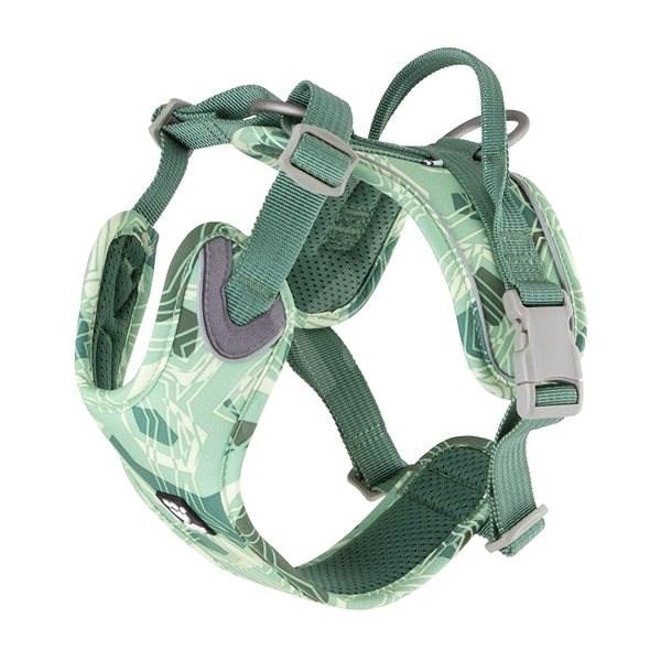 Postroj Hurtta Weekend Warrior zelený camo 45-60cm - Postroj pro psa