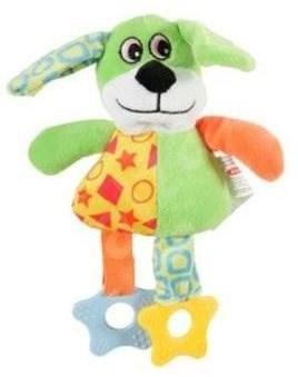 DOG COLOR plyš zelená 22 cm Zolux - Hračka pro psy
