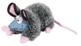 GILDA RAT plyš šedá 44 cm Zolux - Hračka pro psy