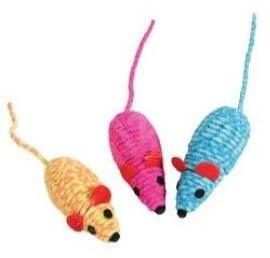 Elastic mouse mix barev Zolux - Hračka pro kočky