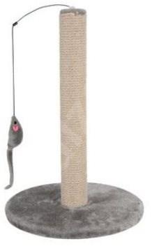 Škrabadlo sloupek s hračkou šedá 48cm Zolux - Škrabadlo pro kočky