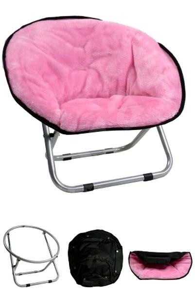 Papillon křesílko, Relax, růžové, 50 × 50 × 40cm - Pelíšek pro psy a kočky