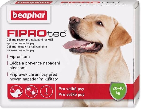 BEAPHAR Spot on Fiprotec pro psy L 20-40 kg  - Antiparazitní pipeta