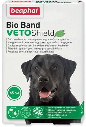 BEAPHAR Obojek repelentní Bio Band pro psy 65cm - Antiparazitní obojek