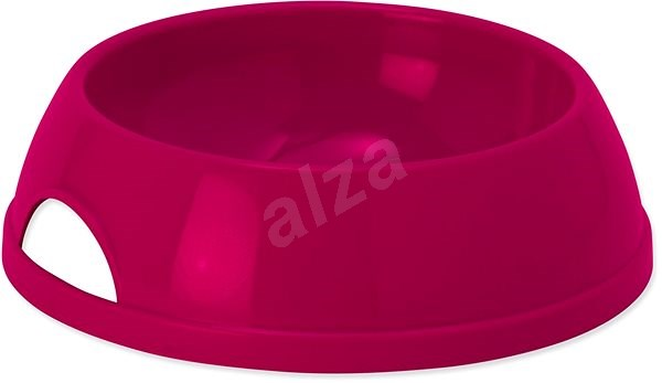 DOG FANTASY Miska plast 470 ml červená - Miska pro psy