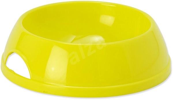 DOG FANTASY Miska plast 470 ml žlutá - Miska pro psy