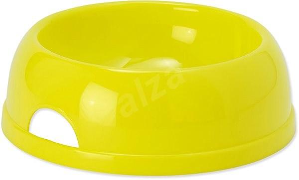 DOG FANTASY Miska plast 1450 ml žlutá - Miska pro psy