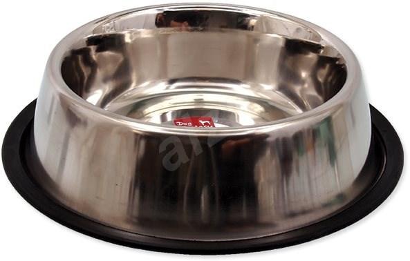 DOG FANTASY Miska nerez s gumou 23 cm 0,94 l - Miska pro psy