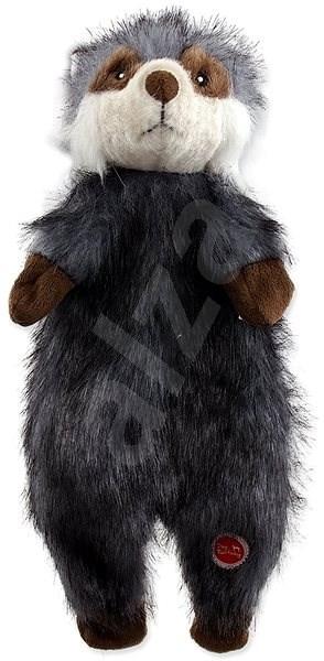 DOG FANTASY hračka skinneeez mýval plyš 34 cm - Hračka pro psy