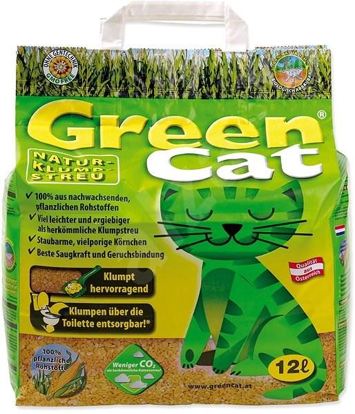 AGROS kočkolit Green cat 12l - Stelivo pro kočky