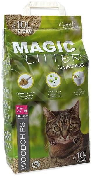 MAGIC PEARLS kočkolit litter woodchips 10l (2,5 kg) - Stelivo pro kočky