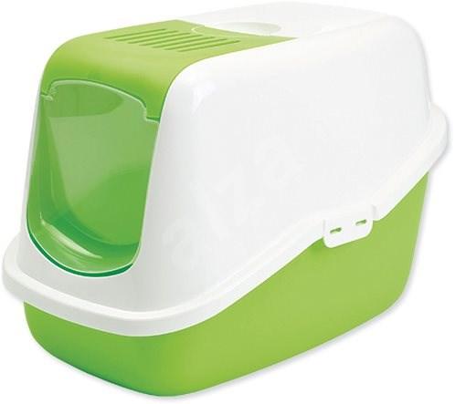 SAVIC toaleta Nestor 56× 39×38,5cm zelená - Kočičí toaleta