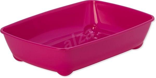 MAGIC CAT toaleta economy 42×31×13cm červená - Kočičí toaleta