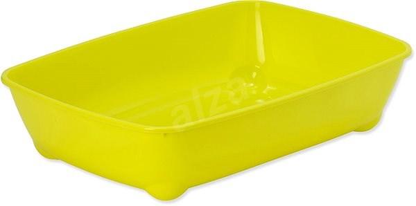 MAGIC CAT toaleta economy 42×31×13cm žlutá - Kočičí toaleta