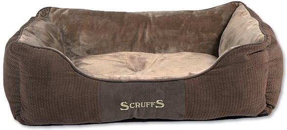 SCRUFFS Chester box bed L 75×60cm čokoládový - Pelíšek pro psy