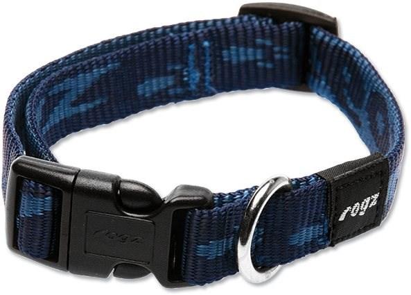 ROGZ obojek Alpinist modrý 1,6×26-40cm - Obojek pro psy