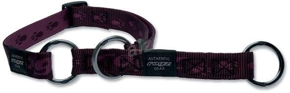 ROGZ obojek Alpinist polostahovací fialový 1,6×26-40cm - Obojek pro psy