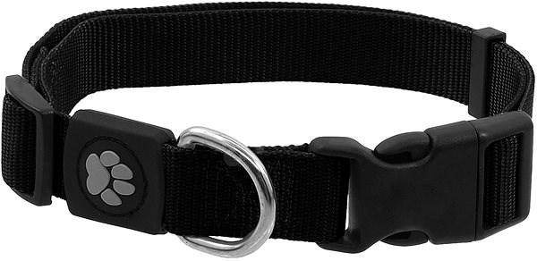 ACTIVE obojek Premium L černý 2,5×45-68cm - Obojek pro psy