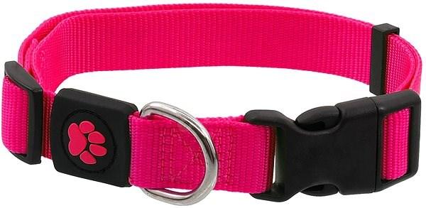 ACTIVE obojek Premium L růžový 2,5×45-68cm - Obojek pro psy