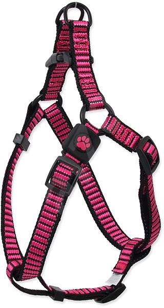 ACTIVE postroj premium M růžový 2×53-77cm - Postroj pro psa