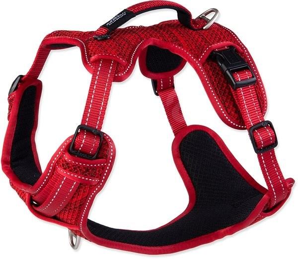 ROGZ postroj explore červený 2×53-73cm - Postroj pro psa