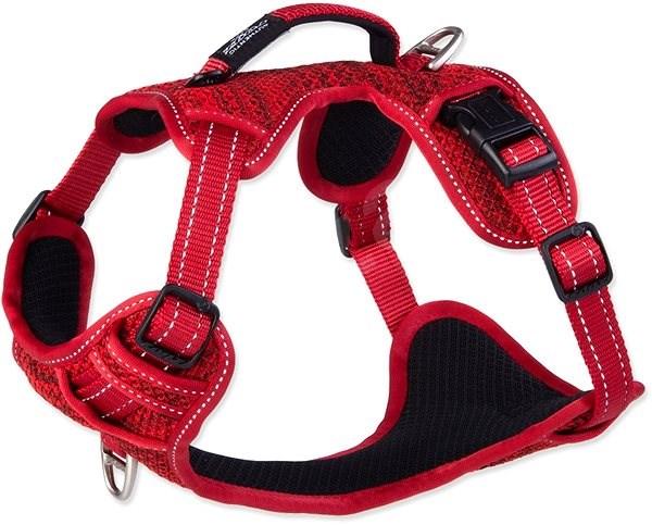 ROGZ postroj explore červený 2×43-59cm - Postroj pro psa