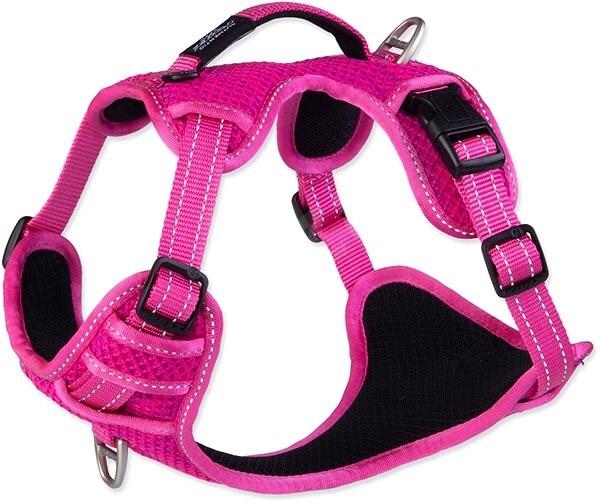ROGZ postroj explore růžový 2×43-59cm - Postroj pro psa
