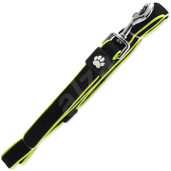 ACTIVE vodítko Fluffy reflective S černé 2×120cm - Vodítko pro psa