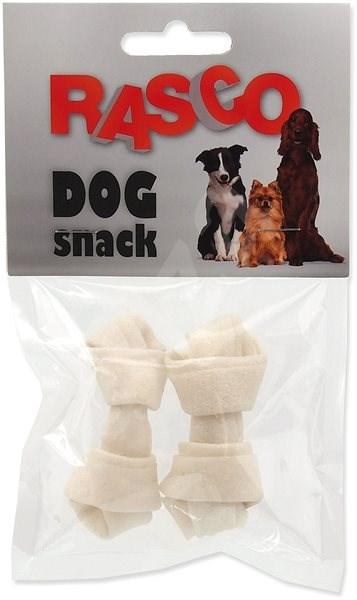 Rasco uzel bůvolí bílý 6,25cm 2ks - Pamlsky pro psy