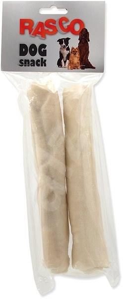 Rasco tyčinka bůvolí bílá 20cm 2ks - Pamlsky pro psy