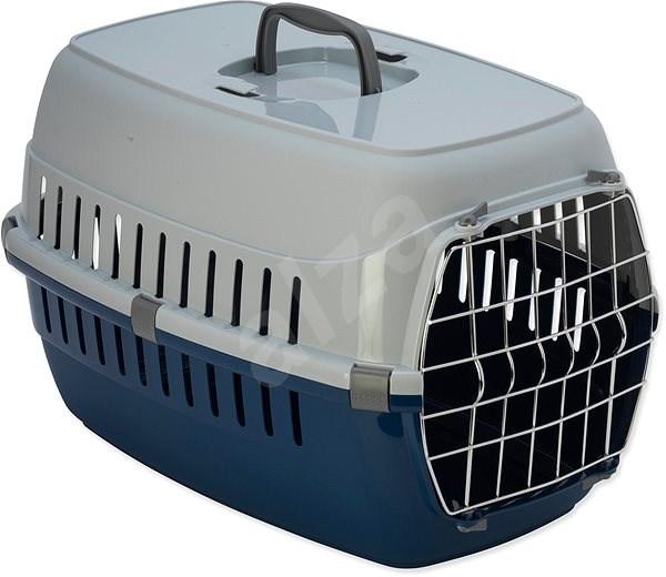 DOG FANTASY přepravka Carrier 48,5×32,3×30,1 cm modrá - Přepravka pro psa
