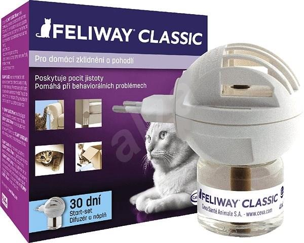 Feliway difuzér + lahvička s náplní 48ml - Feromony pro kočky