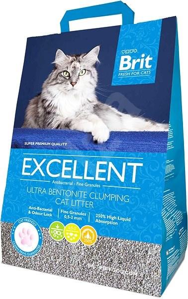 Brit Fresh for Cats Excellent Ultra Bentonite 10 kg - Stelivo pro kočky