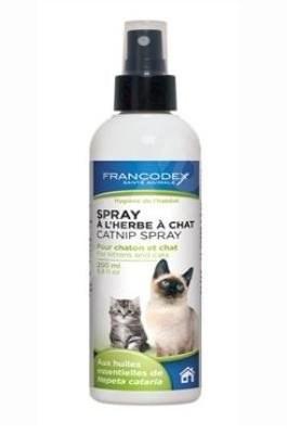 Francodex sprej stimulační Catnip kočka, kotě 200ml - Výcvikový sprej