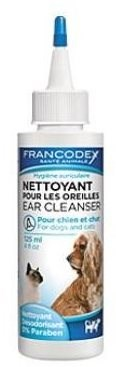 Francodex roztok čistící na uši pes, kočka 125ml - Přípravek na uši