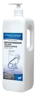 Francodex šampon černá srst pes 1l - Šampon pro psy