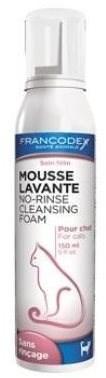 Francodex pěna čistící bezoplachový sprej kočka 150ml - Sprej na srst