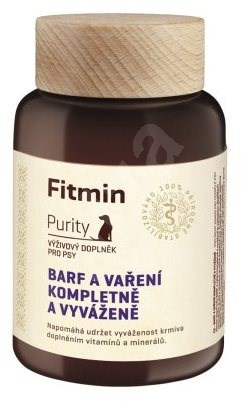 Fitmin Dog Purity BARF - Complete and Balanced Supplement to Cooked Food- 260g - Food supplement for dogs