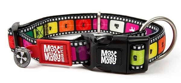 Max & Molly Smart ID obojek polostahovací, Movie, Velikost S - Obojek pro psy