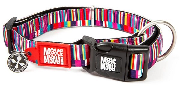 Max & Molly Smart ID obojek polostahovací, Shopping Time, Velikost M - Obojek pro psy