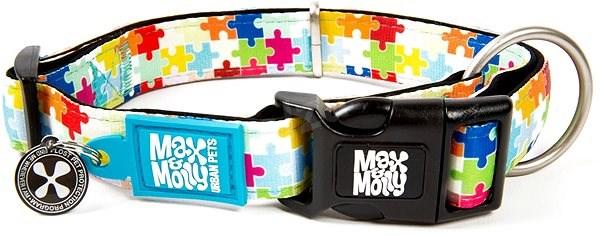 Max & Molly Smart ID obojek polostahovací, Puzzle, Velikost XS - Obojek pro psy