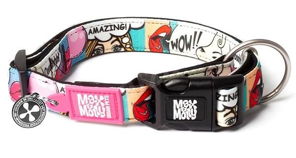 Max & Molly Smart ID obojek polostahovací, Missy Pop, Velikost XS - Obojek pro psy
